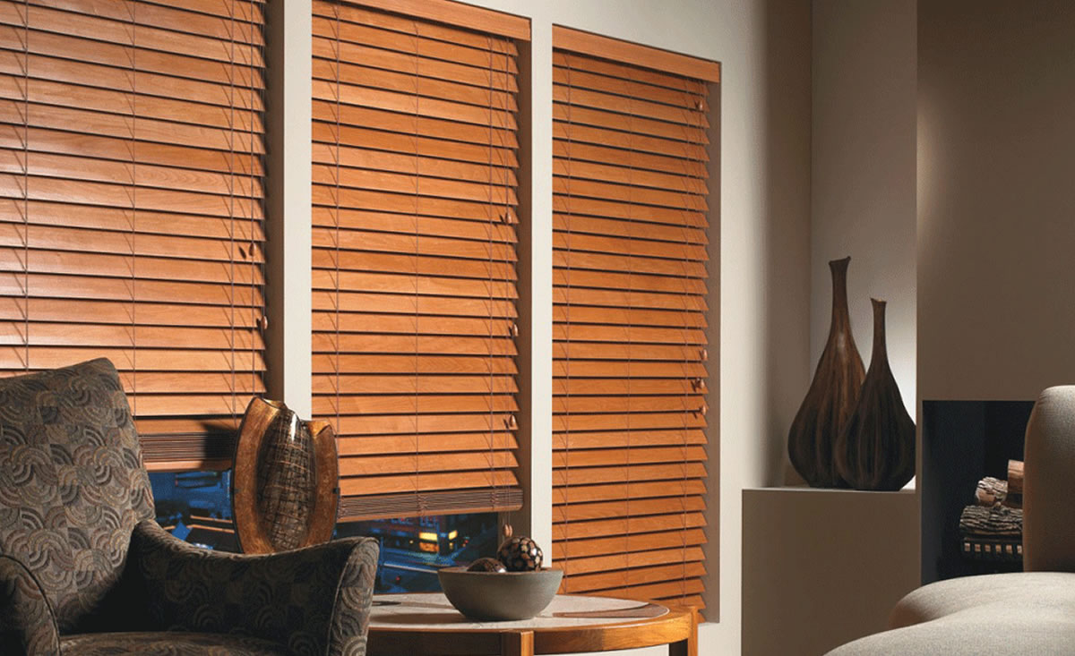 wooden and composite blinds