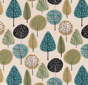 lorienta norwegian wood teal fabric